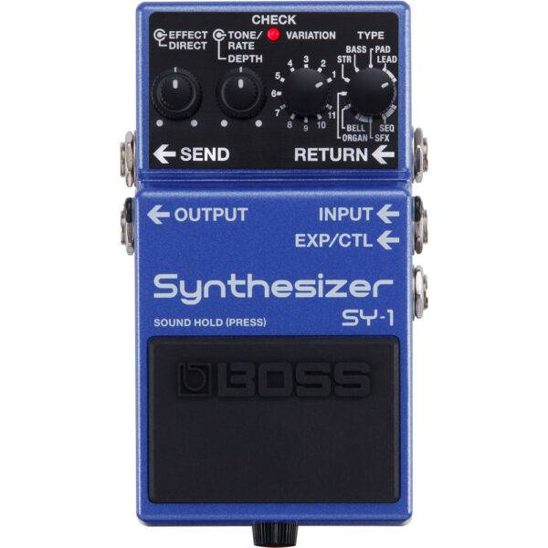 Boss SY-1 Synthesizer Stombox Effects Pedal