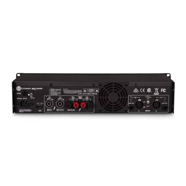 Crown XLS 2502 2-channel, 775W 4Ω Power Amplifier