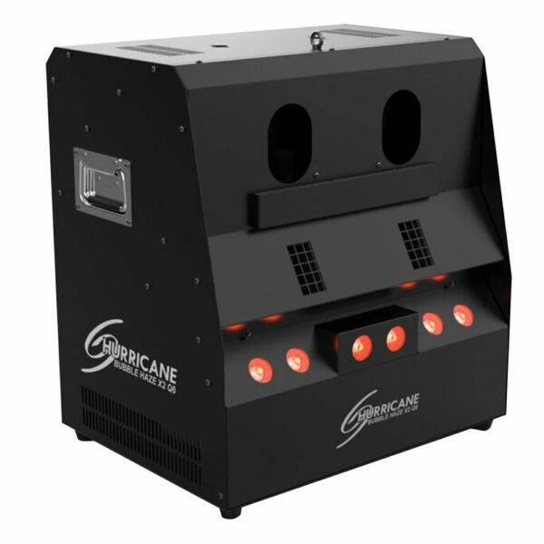 Chauvet DJ Hurricane Bubble Haze X2 Q6 RGB+UV LED Bubble Haze Machine