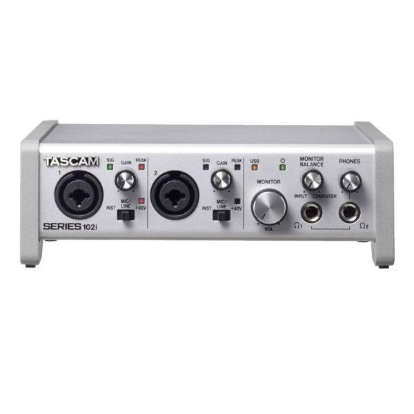 Tascam SERIES 102i USB Audio/MIDI Interface Refurbished