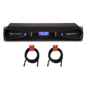 Crown XLS 2502 2-channel Power Amplifier & 20ft XLR Cables