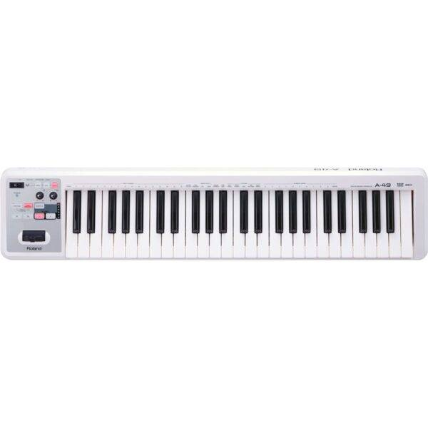 Roland A-49 49-key MIDI Keyboard Controller White Open Box
