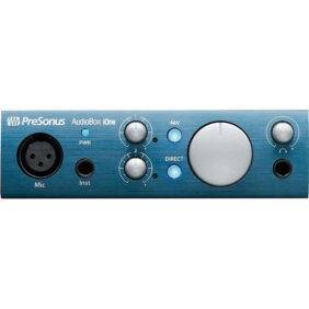 PreSonus AudioBox iOne USB/iPad Audio Interface