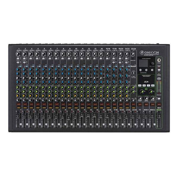 Mackie Onyx24 24-channel Analog Mixer with Multi-track USB