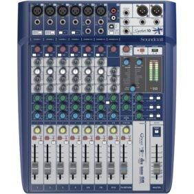 Soundcraft Signature 10 10-input Analog Mixer