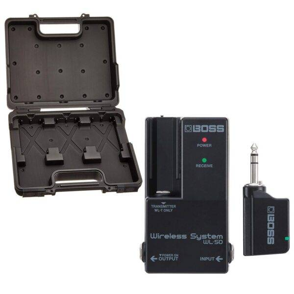 Boss WL-50 Wireless Instrument System With BCB-30 Pedalboard Bundle
