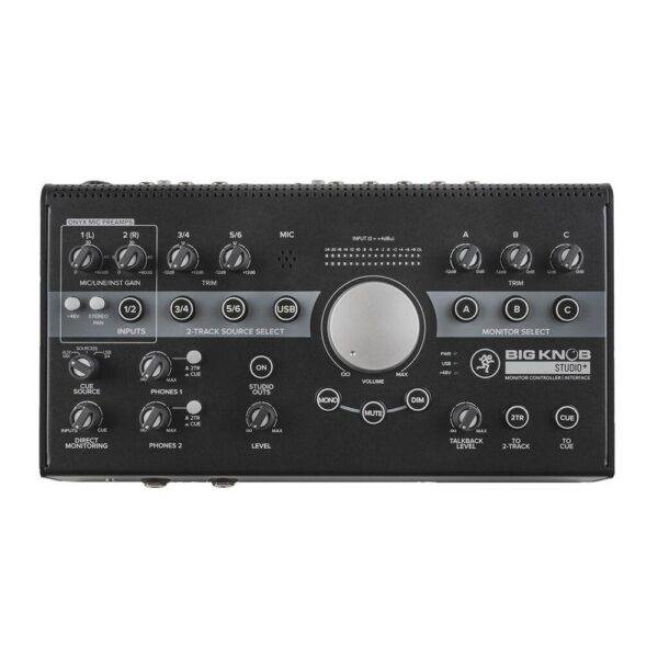 Mackie Big Knob Studio+ Monitor Controller and Interface