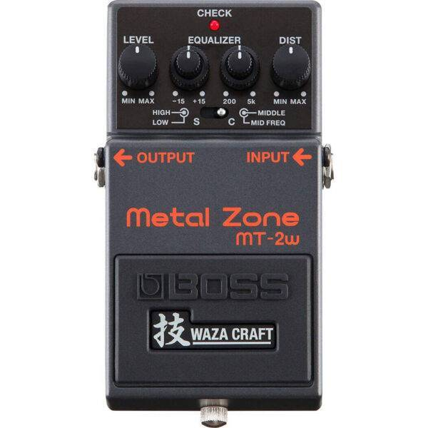 Boss MT-2W Metal Zone Distortion Guitar Effects Pedal