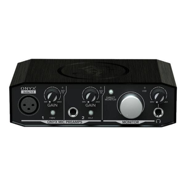 Mackie Onyx Artist 1-2 2-in-2-out USB 2.0 Audio Interface