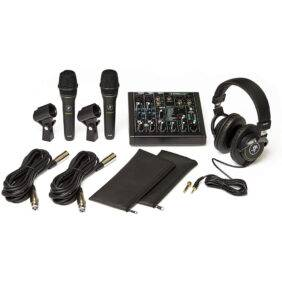 Mackie Performer Bundle with Mixer and Microphones