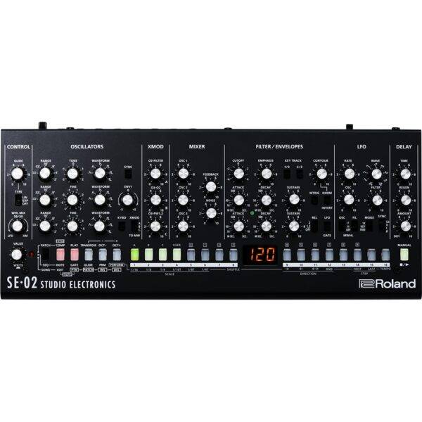 Roland SE-02 Boutique Designer Series Analog Synthesizer Used