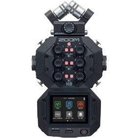 Zoom H8 24-bit/96kHz, 12-track Portable Recorder