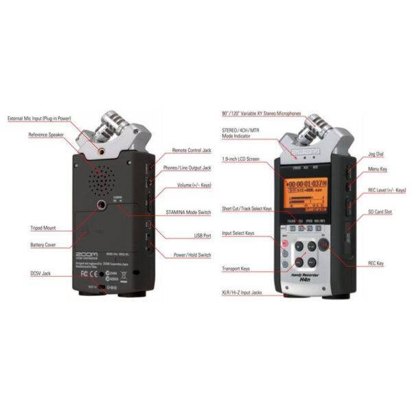 Zoom H4nSP Handheld Multitrack Recorder