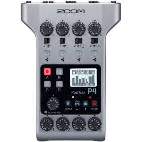 Zoom PodTrak P4 4-input Ultimate Recorder