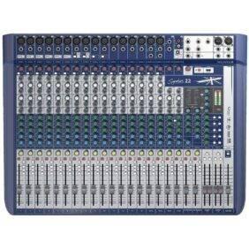 Soundcraft Signature 22 Mixer Open Box