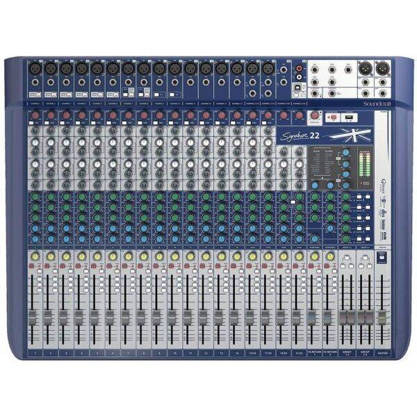 Soundcraft Signature 22 Mixer Open Box