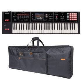 Roland FA-06 61-key Music Workstation & CB-B61 Keyboard Bag Bundle