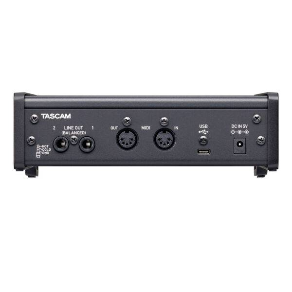 Tascam US-2x2HR 2-in/2-out USB-C Audio Interface