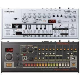 Roland TB-03 Bassline Synth with Roland TR-08 Drum Machine