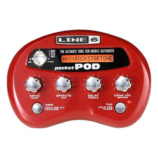 Line 6 Pocket Pod Portable Guitar Processor
