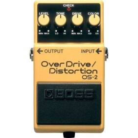 Boss OS-2 Overdrive/Distortion Guitar Effects Pedal Used