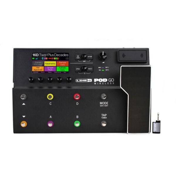 Line 6 POD Go Wireless uitar Multi-effects Floor Processor