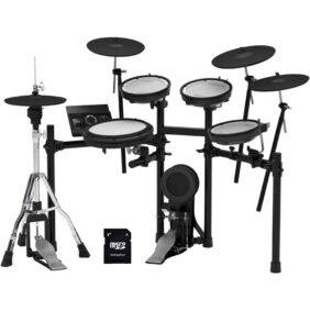 Roland TD-17KVX V-Drums Electronic Drum Set with EV Music 32gb Card