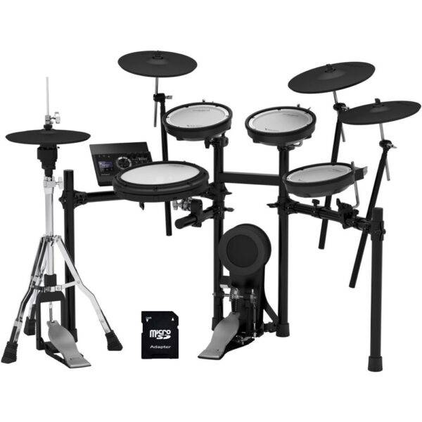 Roland TD-17KVX V-Drums Electronic Drum Set with EV Music 32gb Card