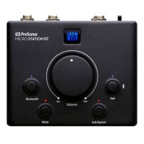 PreSonus Micro Station BT 2.1 Monitor Controller with Bluetooth