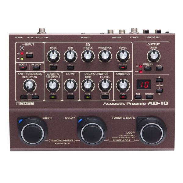 BOSS AD-10 Acoustic Preamp Refurbished