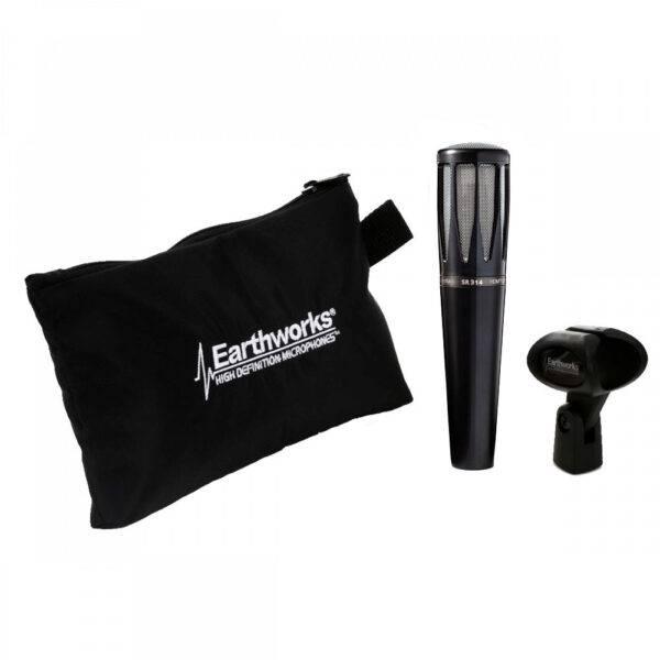 Earthworks SR314 Cardioid Condenser Handheld Vocal Microphone Black