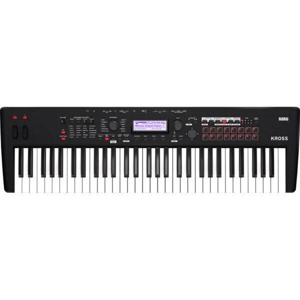 Korg KROSS 2 61-Key Synthesizer Workstation Super Matte Black Refurbished