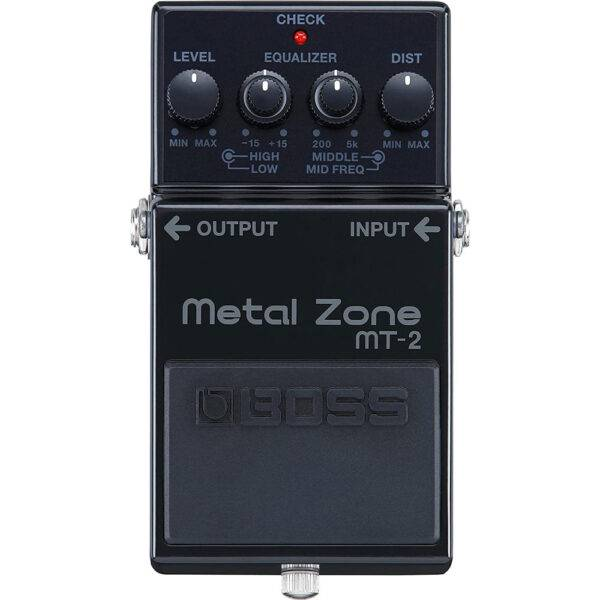 BOSS MT-2-3A 30th Anniversary Metal Zone Distortion Pedal