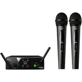 AKG WMS40 Mini 2 Dual Vocal Set Band B/D Refurbished