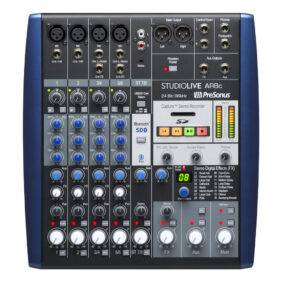 PreSonus StudioLive AR8c 8-channel Analog Mixer and USB Interface Refurbished