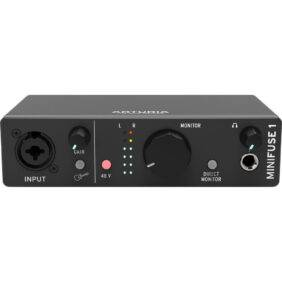 Arturia MiniFuse 1 1x2 USB-C Audio Interface Black